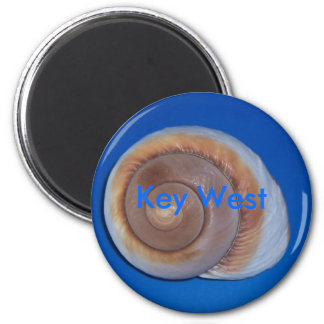 Key West 2 Inch Round Magnet