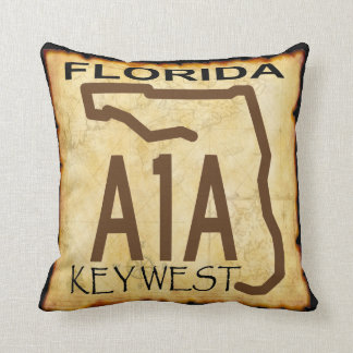 Key West A-1-A Pillow
