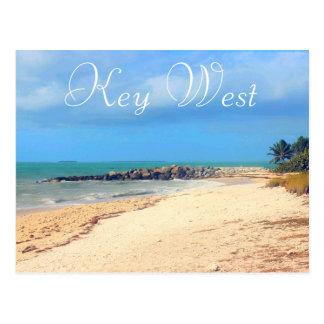 Key West Beach Postcard