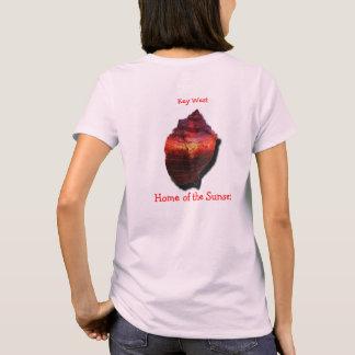 Key West Conch sunset shirt