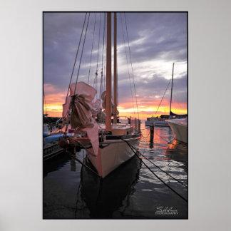 Key West Drems at sea Poster