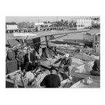 Key West Fishermen, 1930s Postcard