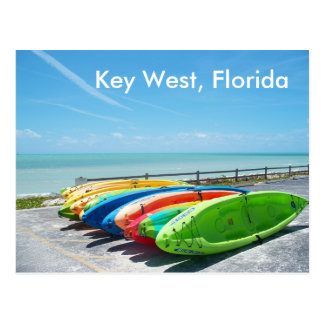 Key West Florida Beach Ocean Postcard Photo