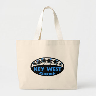 Key West Florida blue black palms Bags