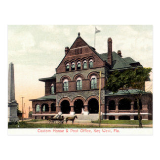 Key West Florida Custom House Vintage Postcard