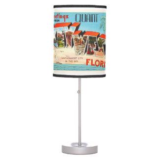 Key West Florida FL Old Vintage Travel Souvenir Table Lamp
