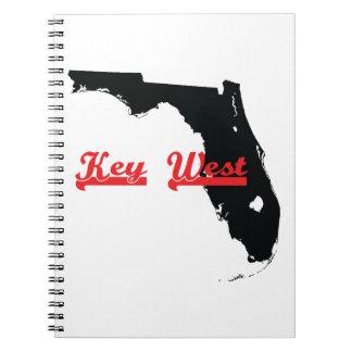 key west Florida Spiral Note Book