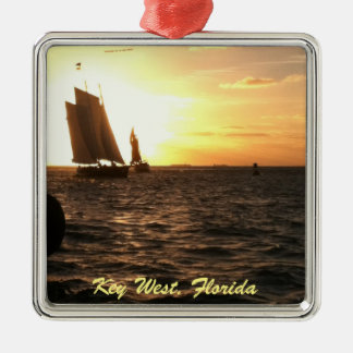 Key West, Florida Sunset Ornament