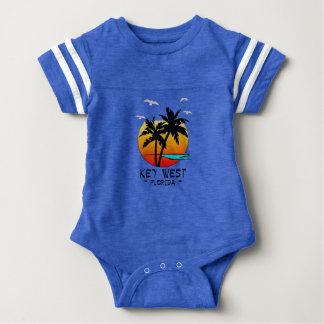 KEY WEST FLORIDA TROPICAL DESTINATION BABY BODYSUIT