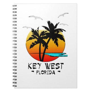 KEY WEST FLORIDA TROPICAL DESTINATION NOTE BOOKS
