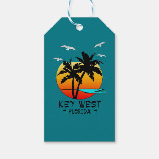 KEY WEST FLORIDA TROPICAL DESTINATION PACK OF GIFT TAGS