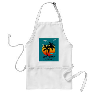 KEY WEST FLORIDA TROPICAL DESTINATION STANDARD APRON