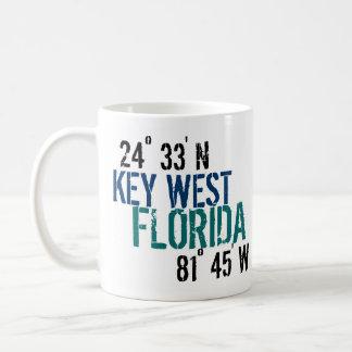 Key West Latitude Coffee Mug