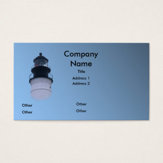 Key West Lighthouse Business Card