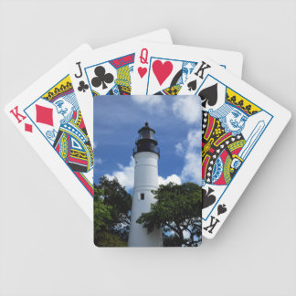Key West Lighthouse Poker Deck