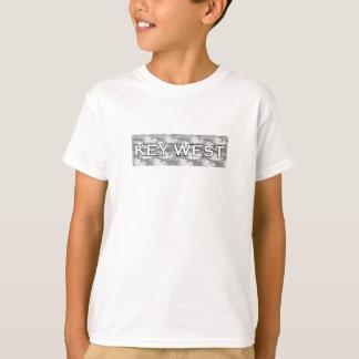 Key West Logo - Bonefish Pattern T-Shirt