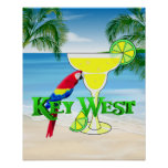 Key West Margarita Poster