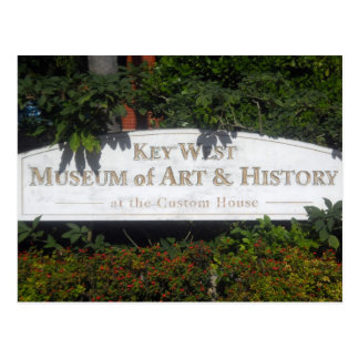 Key West Museum of Art and History Postcard