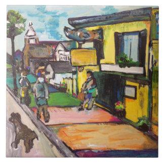 Key West Painting #1 Tile