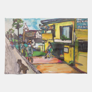 Key West Painting Kitchen Towel