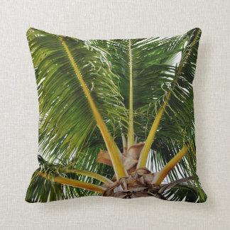 Key West Palm tree Throw Pillow