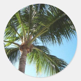 Key West Round Sticker