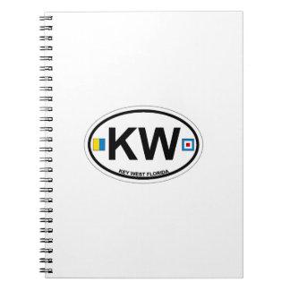Key West. Spiral Notebooks