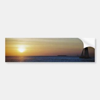 Key West sunset Bumper Sticker