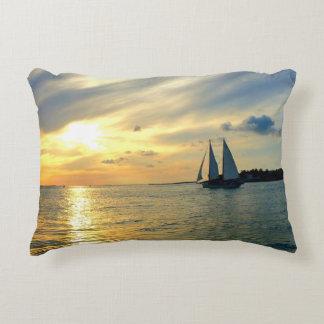 Key West Sunset Decorative Pillow