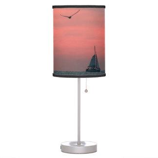 Key West sunset lamp