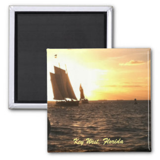 Key West Sunset Photo Magnet