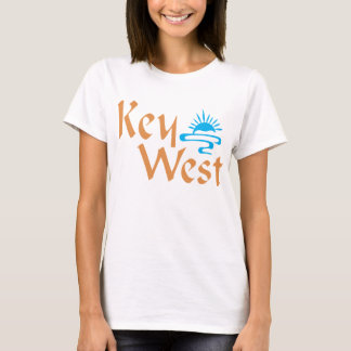 Key West t-shirt with sunset design