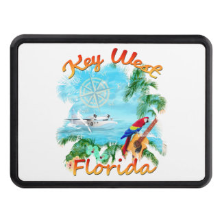 Key West Tropical Rock Trailer Hitch Cover