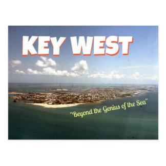 Key West Wallace Stevens-themed Postcard