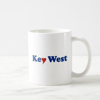 Key West with Heart Coffee Mug
