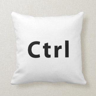 Keyboad- Ctrl Throw Pillow