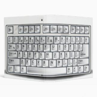 Keyboard 3 Ring Binders