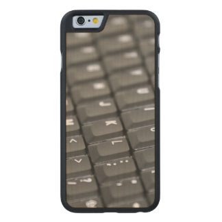 Keyboard Carved Maple iPhone 6 Case