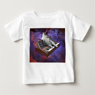 keyboard cat - cat memes - crazy cat baby T-Shirt