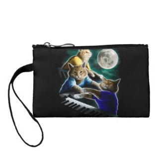 keyboard cat - cat music - cat memes coin purse