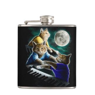 keyboard cat - cat music - cat memes hip flask