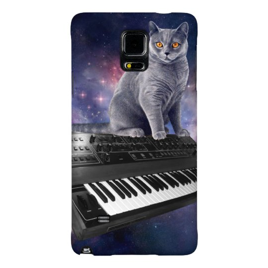 keyboard cat - cat music - space cat