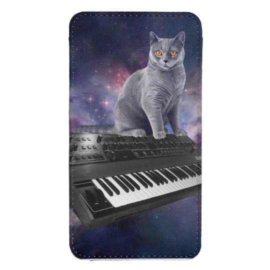 keyboard cat - cat music - space cat galaxy s4 pouch