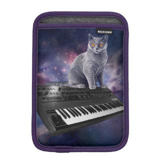 keyboard cat - cat music - space cat iPad mini sleeve