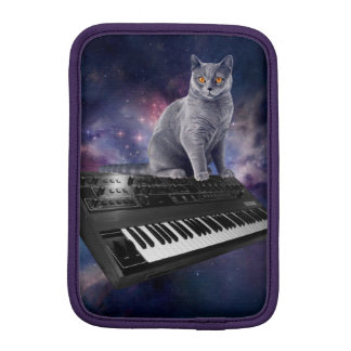 keyboard cat - cat music - space cat iPad mini sleeve