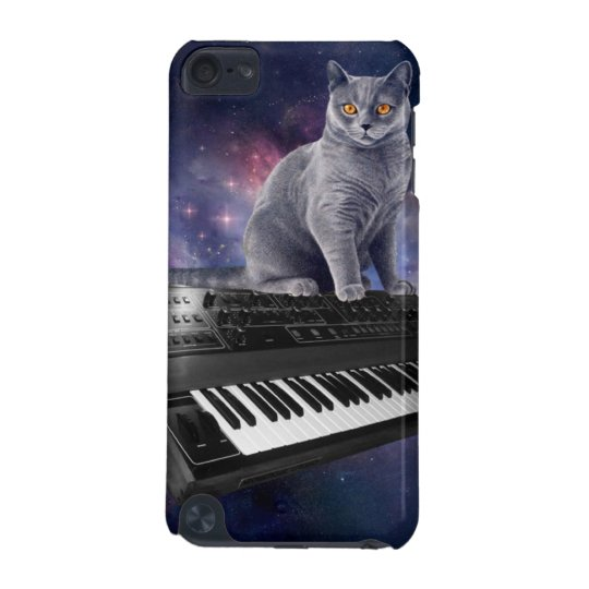 keyboard cat - cat music - space cat iPod touch (5th generation) case