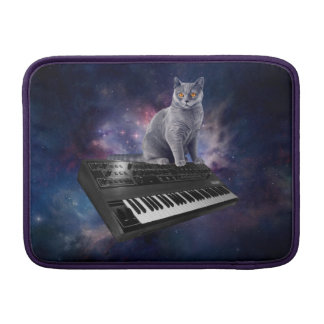 keyboard cat - cat music - space cat MacBook sleeve
