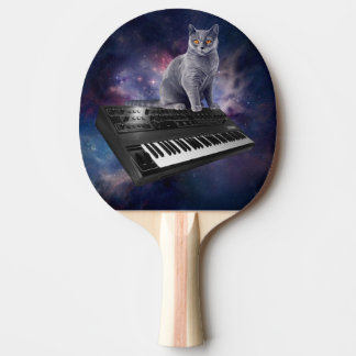 keyboard cat - cat music - space cat ping pong paddle