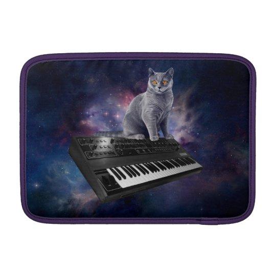 keyboard cat - cat music - space cat sleeve for MacBook air