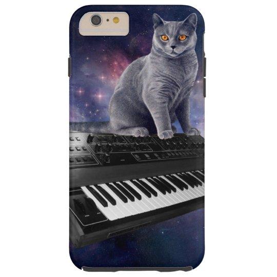 keyboard cat - cat music - space cat tough iPhone 6 plus case